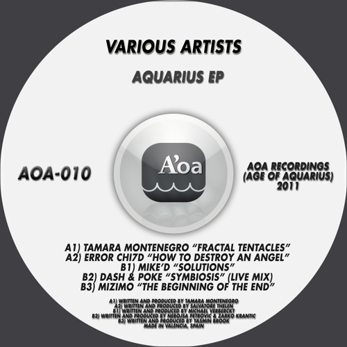 Dash and Poke - Symbiosis (LIVE MIX) - AOA , Age of Aquarius records / Spain
