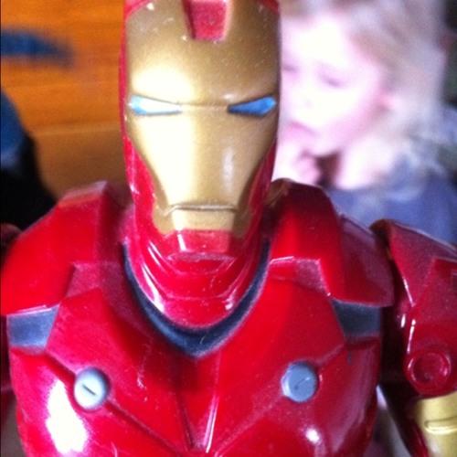I am Iron Man on Saturday morning