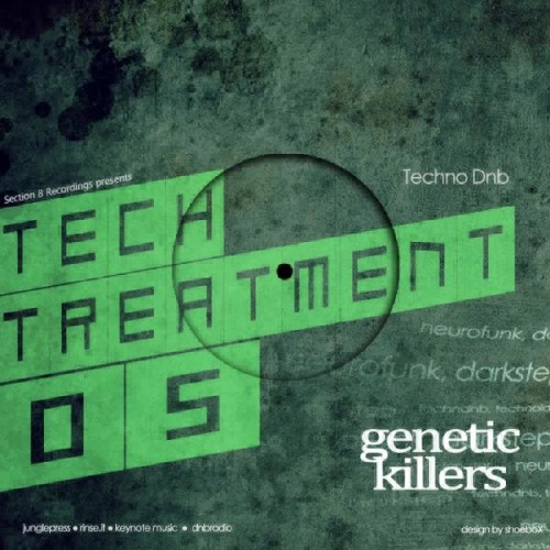 Genetic Killers-Wanted (Section 8 Recordings)