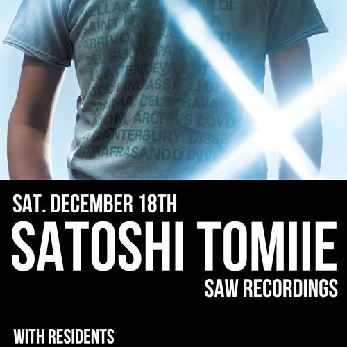 Satoshi Tomiie @ SULLIVAN ROOM, 20101218 New York, US