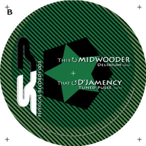 D'JAMENCY / MIDWOODER - Physical EP003 /// Physical records - FR