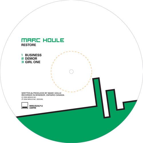 Marc Houle - Coar  | Minus | 2004
