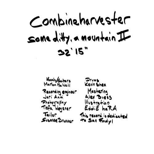 Combineharvester - Some Ditty A Mountain II