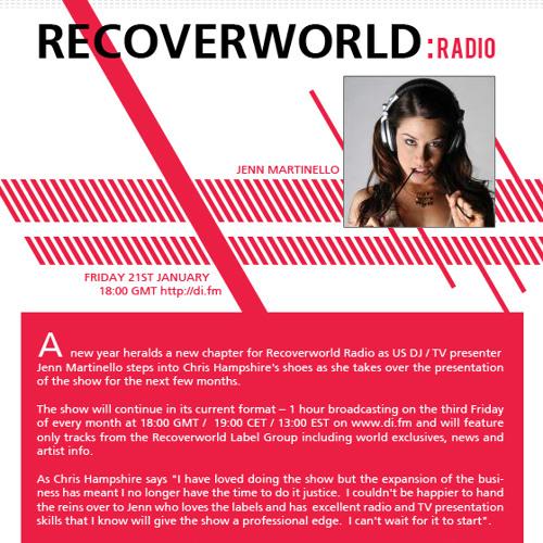 RecoverWorld Radio January 2011 Podcast