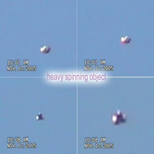 Heavy Spinning Object