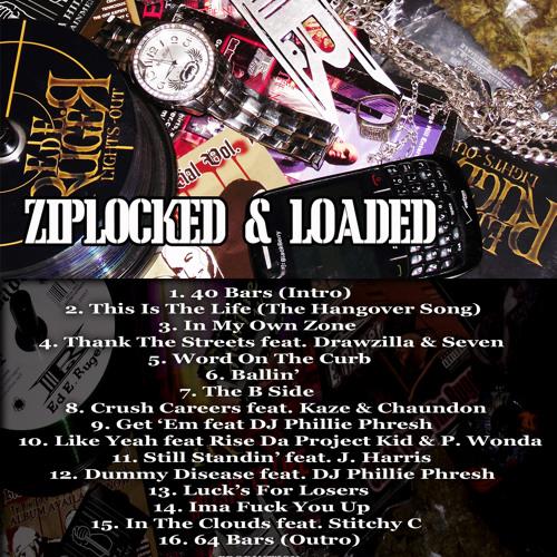 Ziplocked & Loaded Promo Sampler - buy now on itunes,amazon,etc