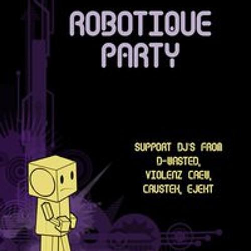mR live act @ robotique party tdn (22-1-11)