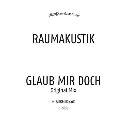 Raumakustik - Glaub Mir Doch (Sonntagskind & David Jach Remix) GLAUBMIR001XB1