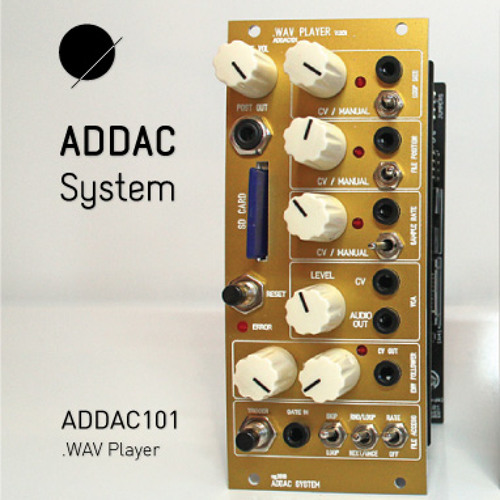 ADDAC101 .WAV Player - Time stretching