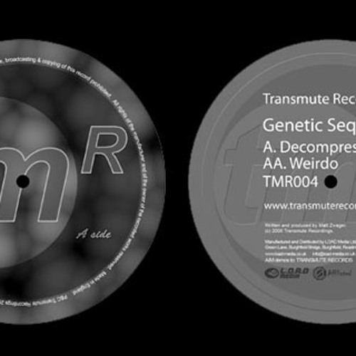 genetic sequence - decompression