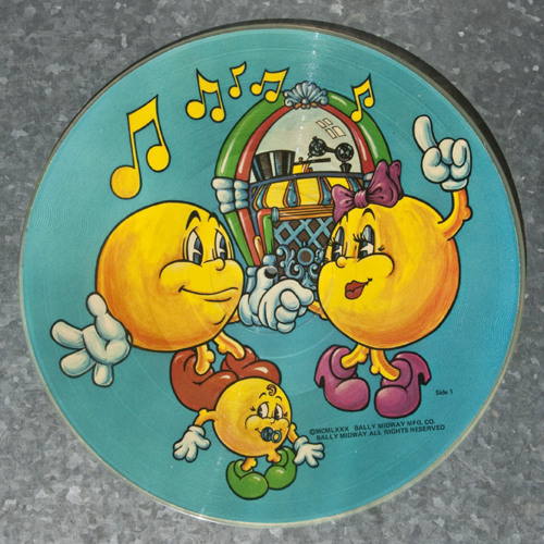 Pac-Man Picture Disc