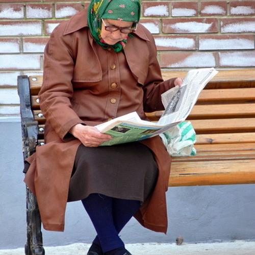 только картинки старушки читают нас