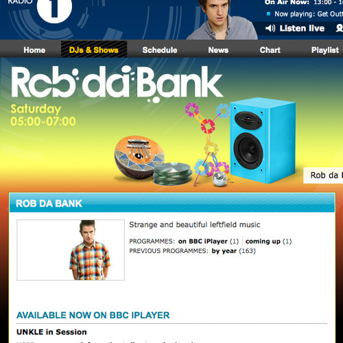 Electro Swing Special (on BBC Radio 1's Rob da Bank show)