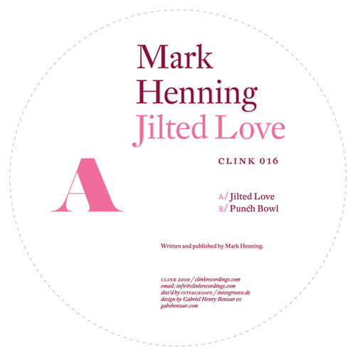 Mark Henning - Jilted Love (Clink 2009)