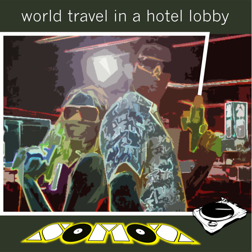 World Travel in a Hotel Lobby