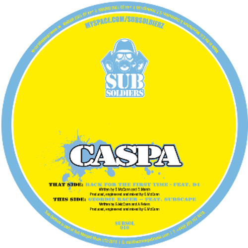Geordie Racer - Caspa ft. Subscape SUBSOL010