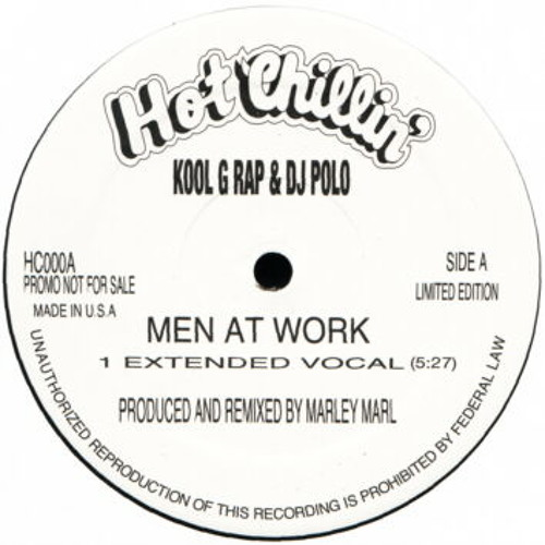 Kool G Rap - men at work (dan drehn remix) 2010