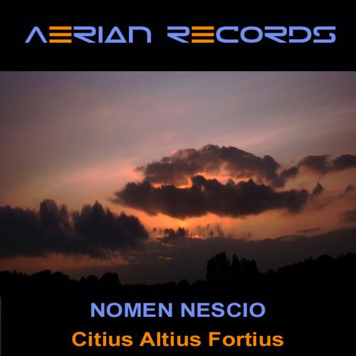 Nomen Nescio - Citius Altius Fortius (Original Mix-SC)
