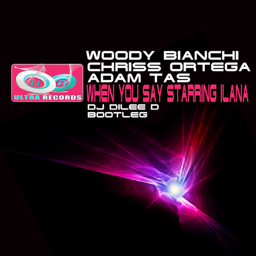 Woody Bianchi, Chriss Ortega & Adam Tas - When You Say Starring Ilana (Dj Dilee D Bootleg)