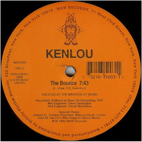 Kenlou (Masters at Work) - The Bounce