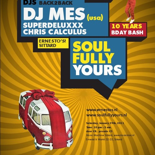 DJ Mes Live @ Soulfully Yours 10 Year Anniversery January 2011 by DJ