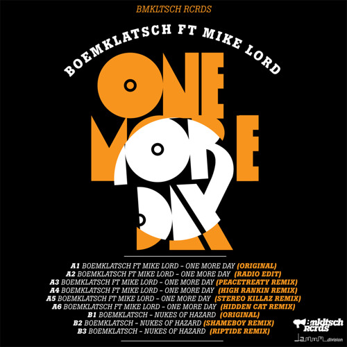 Boemklatsch - One More Day (PeaceTreaty Remix)