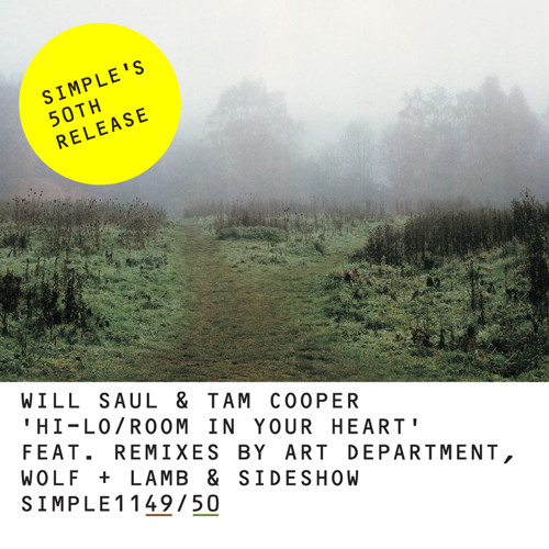 Room In Your Heart [clip] - Will Saul + Tam Cooper - SIMPLE:050