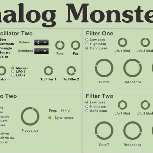 Analog Monster demo (0db.pl)