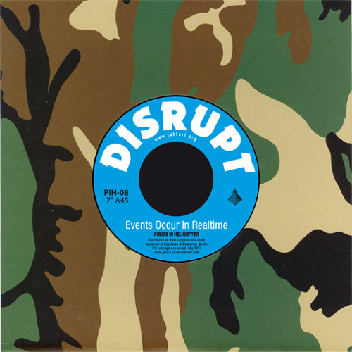 """PIH-08 DISRUPT / TAPES - Events Occur In.. / Atomica Rydim 7"""" (Promomix by Phokus) RD: 04-April-2011"""
