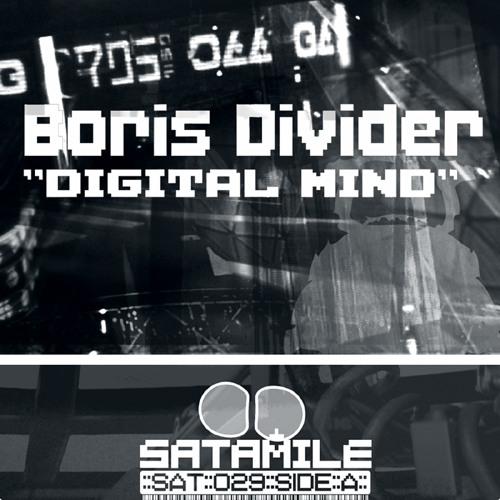 """Robot Skin"" by Boris Divider, Satamile Rec. VINYL"