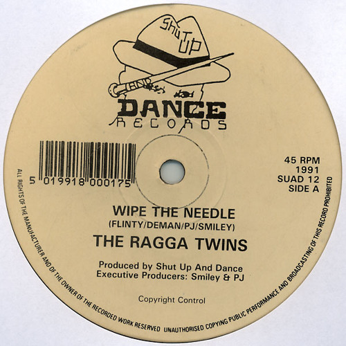 Ragga Twins - Wipe The Needle (Simon Harris 2011 Remix)