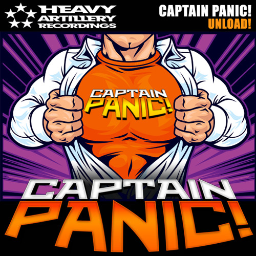Captain PANIC! - Unload! (Dubstep to Drumstep Mix) out now!!