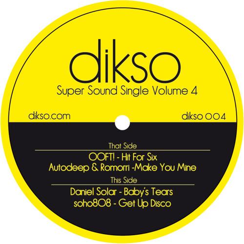 DIKSO004 B1 - Daniel Solar - Baby's Tears (Snippet)