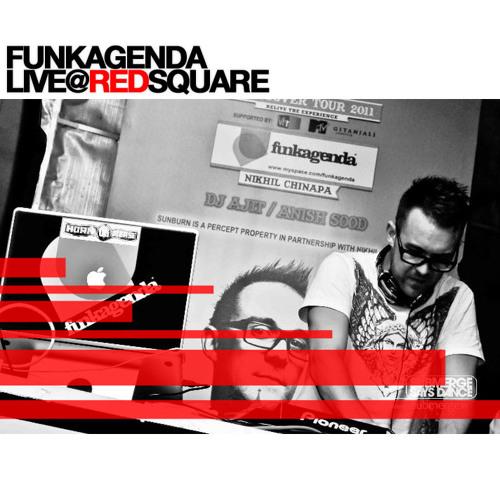Funkagenda Live @ Sunburn Hangover Tour - Red Square - Goa Sat 19th Feb 2011