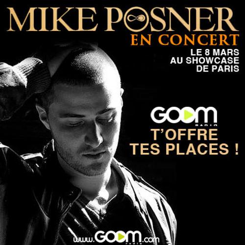 Gagne tes places pour le concert de Mike Posner