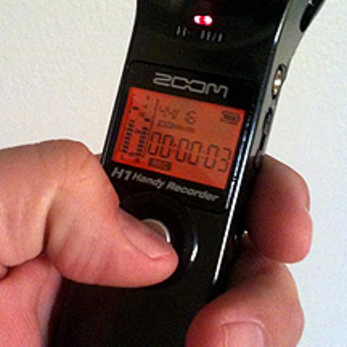 Zoom H1 recorder test