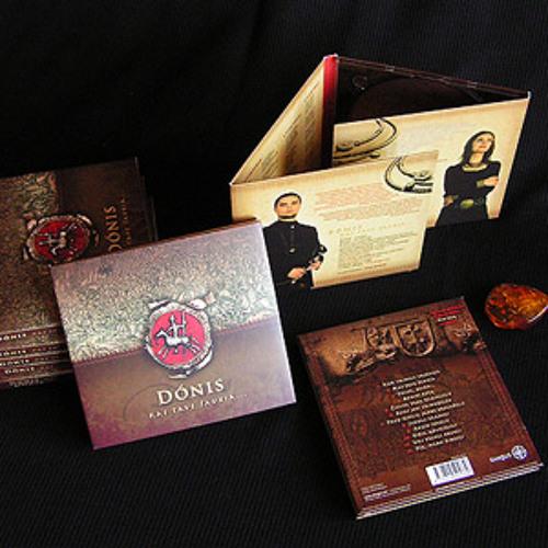 """Donis & RASA SERRA. 2010 CD """"Kas tave šaukia..."""""""