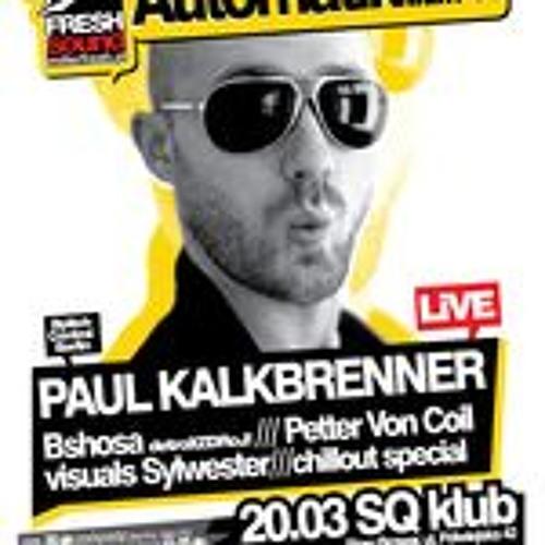 Paul Kalkbrenner LIVE @ SQ klub, 20.03.2009 (Poznan, Poland)