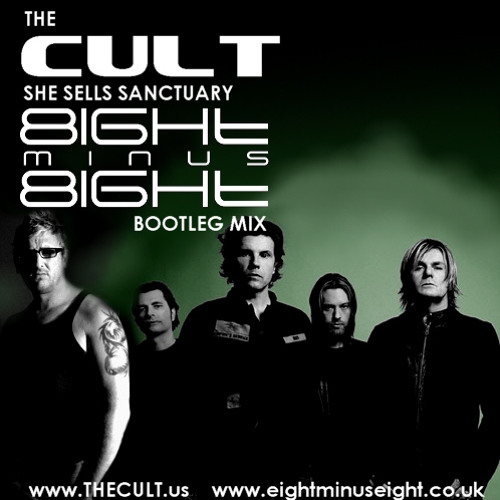 THE CULT she sells sanctuary Eight minus Eight BOOTLEG