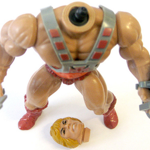 the action figure who had no head.