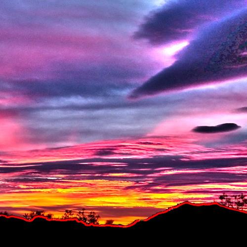 Nuclear Desert Sunrise