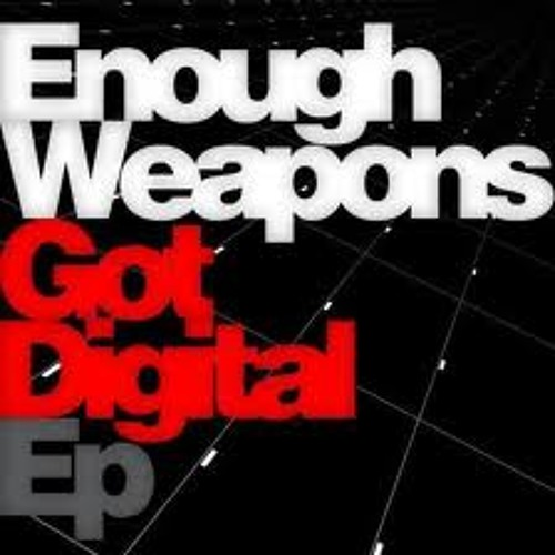 ENOUGH WEAPONS_DROPPING MORGAN A LINE /// ORIGINAL PRIMATE RHINO REMIX // OUT ON Ape Recordings via beatport