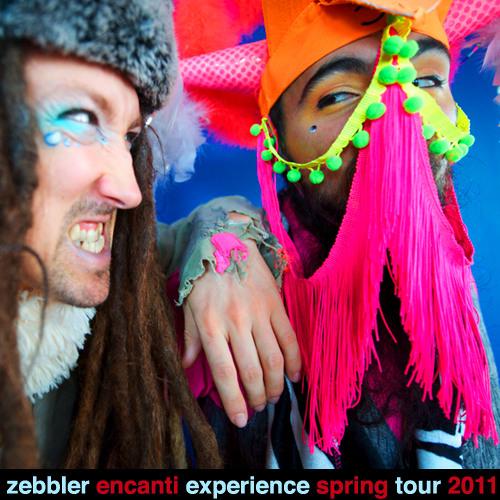 Zebbler Encanti Experience Spring Tour 2011 Mix