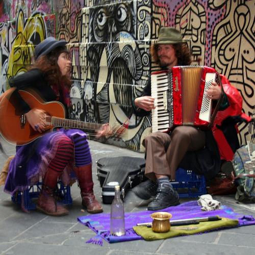 Buskers & Street Musicians