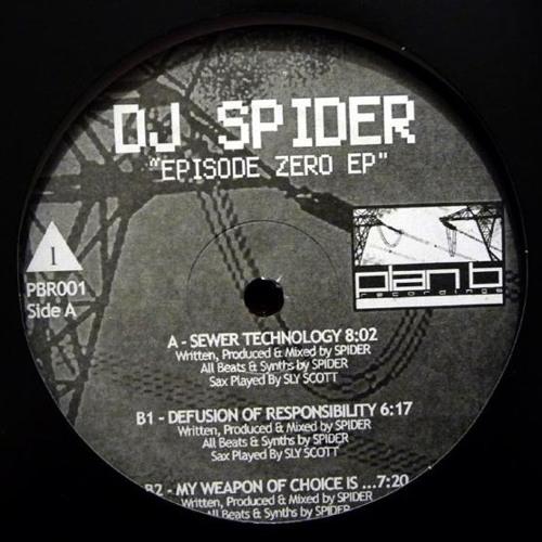 """Sewer Technology - DJ Spider (12"""" Vinyl)"""