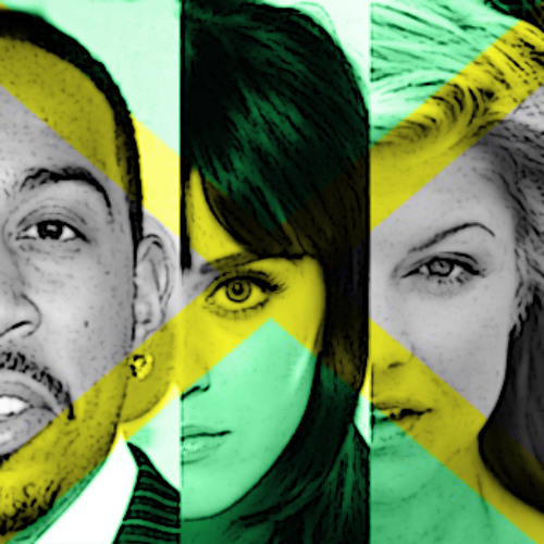Katy Perry, Fergie & Ludacris on Seeed - I Kissed A Glamorous Girl