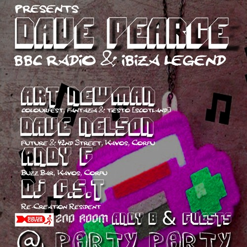 Hard Kandy Presents Dave Pearce 25th March 2011 @ Party Party