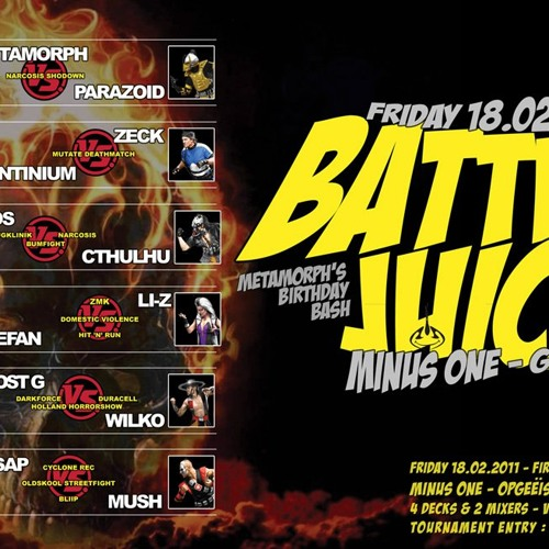 Stefan ZMK vs Li-Z HnR - Battle Juice 4dexmix 18-02-11 [acid|hardtechno|tekno]