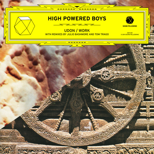 HIGH POWERED BOYS 'Udon / Work' EP preview