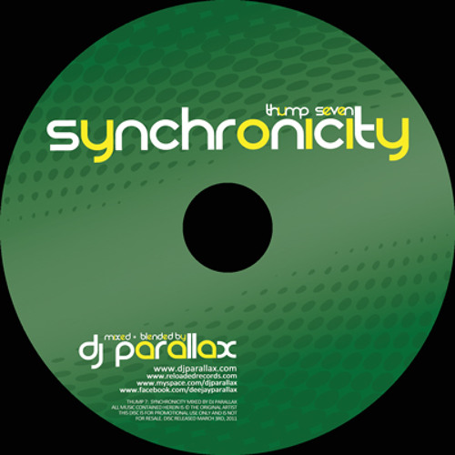 THUMP 7:  Synchronicity - Mixed & Blended by DJ PARALLAX